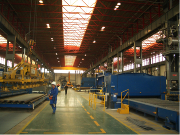Energy Saving Lighting at Shipbuilding Facilities