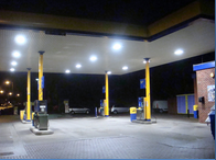 Falkirk Petrol Forecourt Lighting