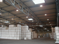 Knauf Drywall Warehouse Low Maintenance Lighting