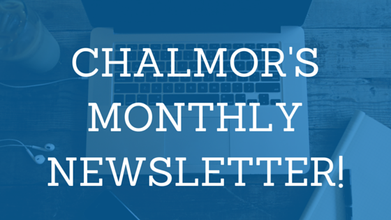 chalmor's monthly newsletter image