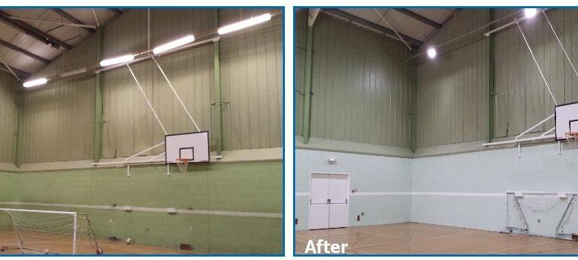 Energy Efficient Factory Lighting Upgrade