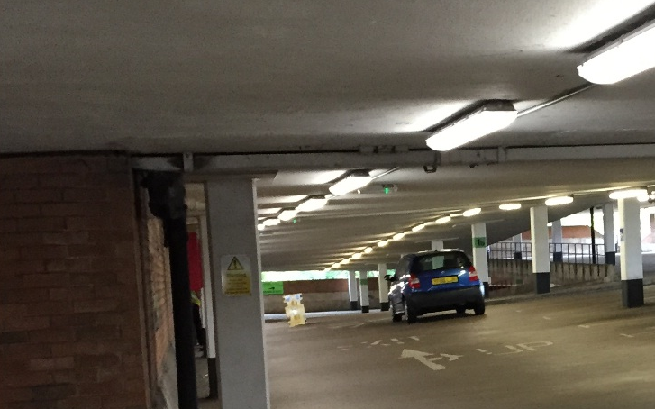 LED Lighting for a car park in Nuneaton & Bedworth Council