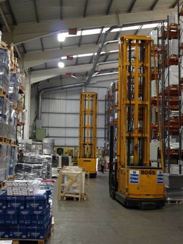 Wincanton Distribution Lighting & Controls