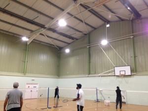 Redbourn Recreation Centre Energy Saving Lighting Refurb