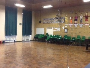 school Lighting upgrade at chalfont st giles school hall