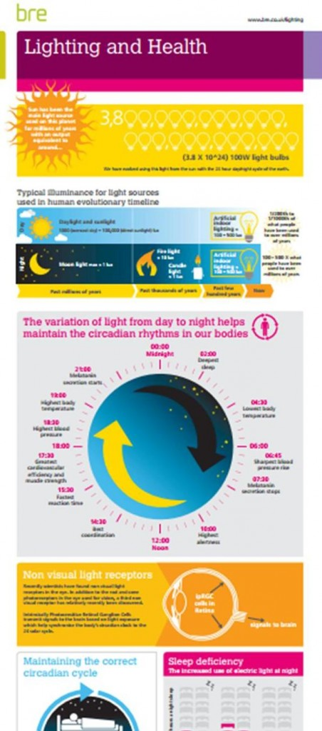 BRE Lighting Infographic