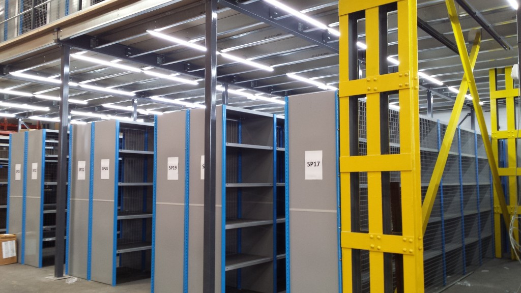 warehouse lighting can improve productivity at work