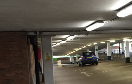 LED Lighting for Car Park at Nuneaton & Bedworth Council