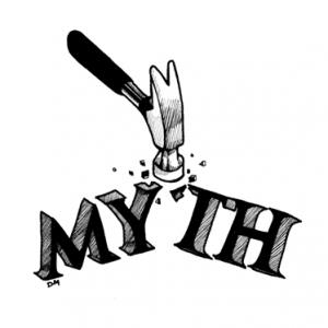 Energy Saving Myth Busting Graphic