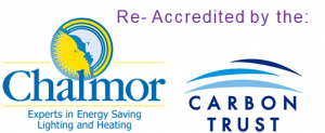 Chalmor is Re-Accredited by the Carbon Trust