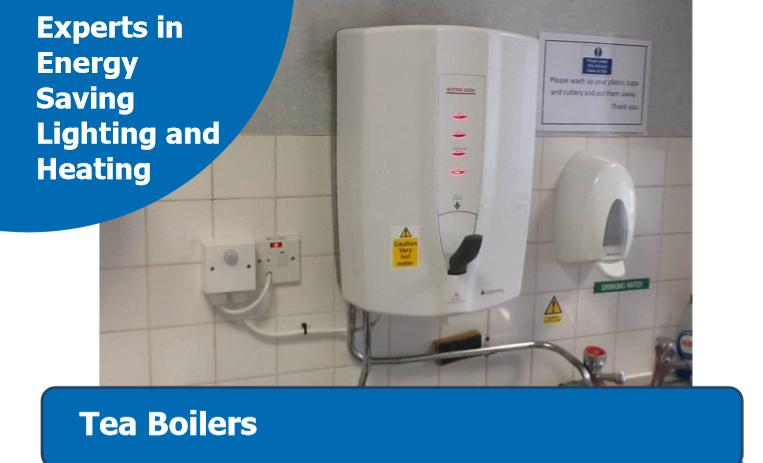 O1 Tea Boiler Controls